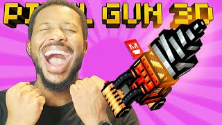 LEVEL 65 SUPER DRILL MELEE! l Pixel Gun 3D