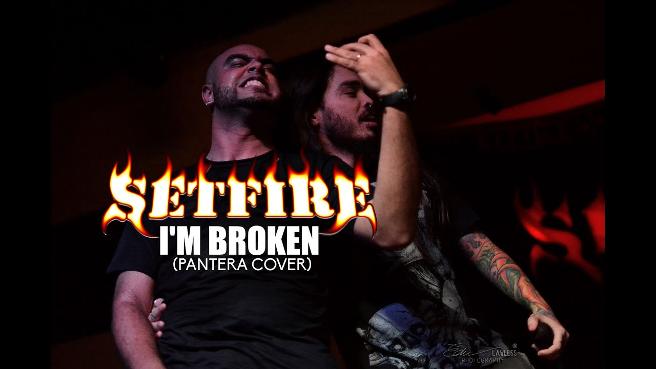 Pantera im broken video