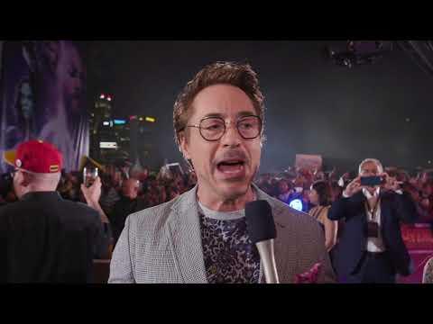 Avengers: Infinity War: Robert Downey Jr. Singapore Interview