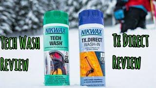 Nikwax Tech Wash & Tx Direct Wash in Review