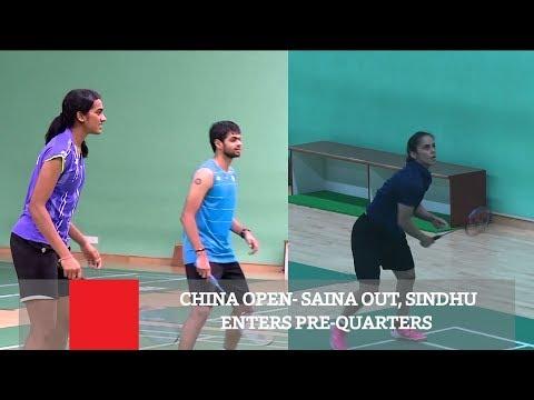 China Open- Saina Out, Sindhu Enters Pre-Quarters Mp3