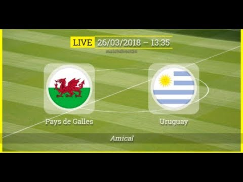 PAYS DE GALLES vs URUGUAY ⚽ Live