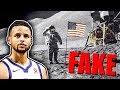 Steph Curry Says Moon Landing Was FAKE