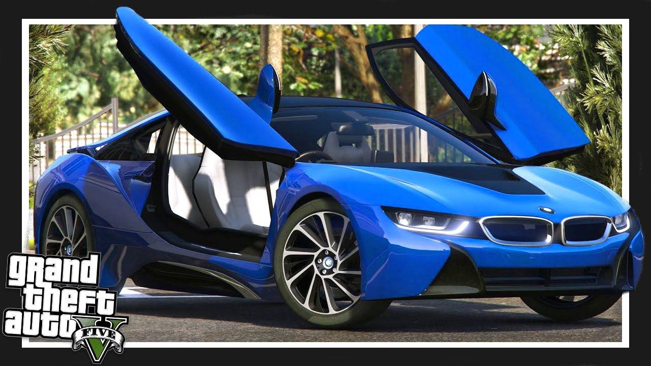 Gta 5 Real World Cars Bmw I8 Gta 5 Mods Showcase Youtube