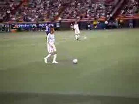 Beckham's FK in PanPacific Championship 2008