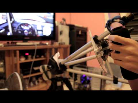 DIY Dualshock 3 Steering Wheel WIth Paddle Shift on PC