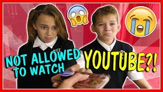 Video WE'RE NOT ALLOWED TO WATCH YOUTUBE!?!? | We Are The Davises download MP3, 3GP, MP4, WEBM, AVI, FLV Juni 2018
