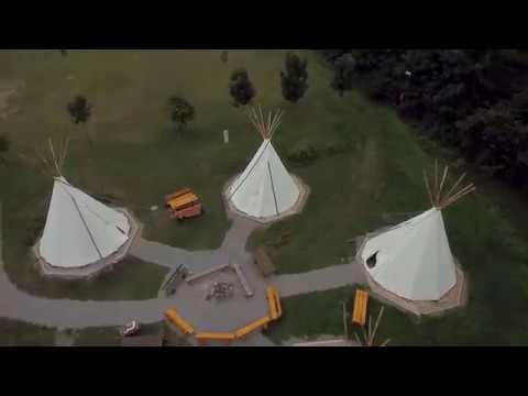 """Jugendherberge """"Urwald-Life-Camp"""" Lauterbach  - Luftaufnahmen"""