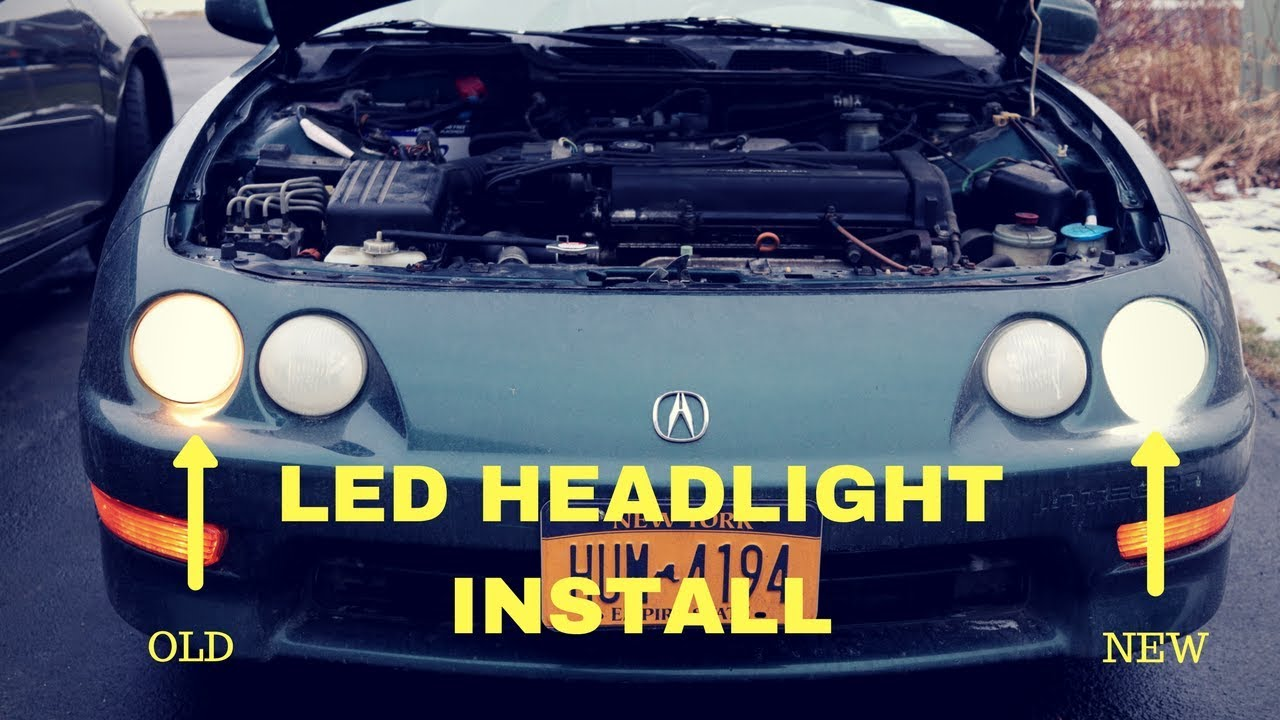 headlights headlight products acura right img oem integra