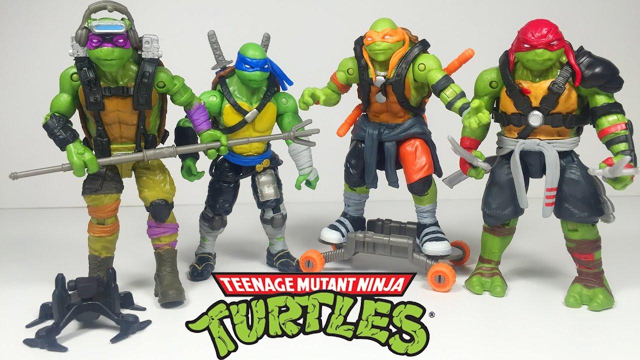 Oyuncak Figürü Ninja Kaplumbağalar Gölgelerin Içinden Süper