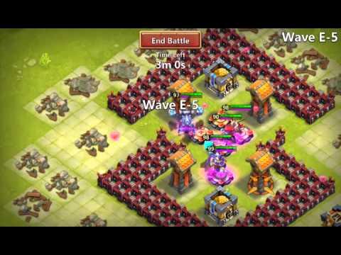 Castle Clash Hbm Win!!!