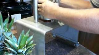 Industrial Manual Pineapple Peeler - CharliesMachineandSupply.com