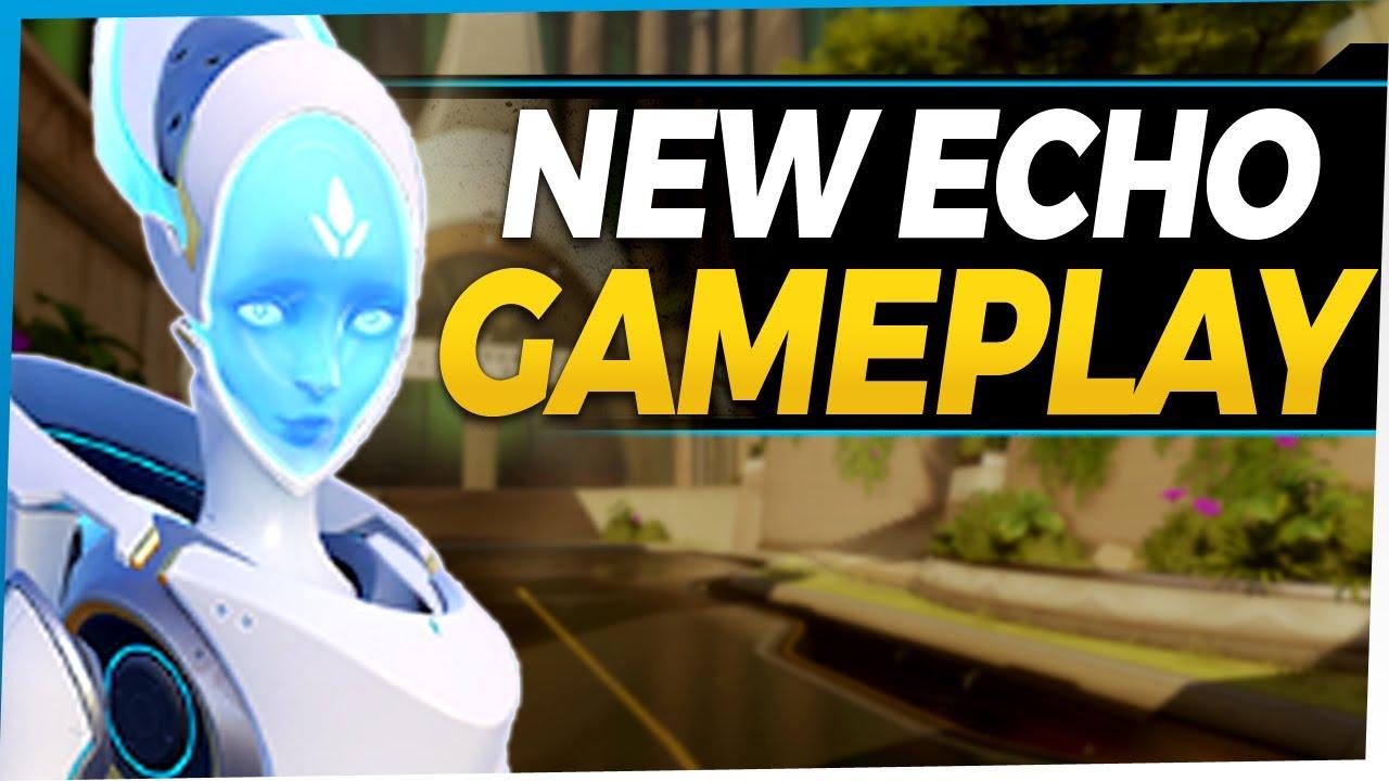 Download Overwatch Echo Gameplay - New DPS Hero