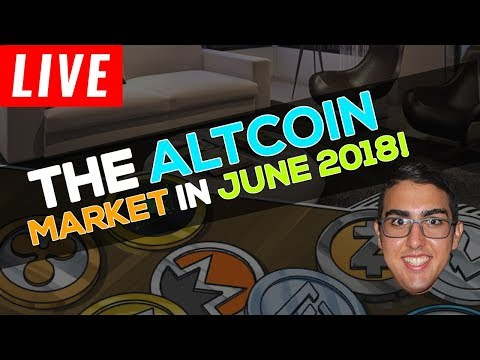 Where The Altcoin Market Is Headed In June 2018!