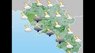 Allerta meteo di colore giallo per Napoli ed isole, domani 10 luglio 2019