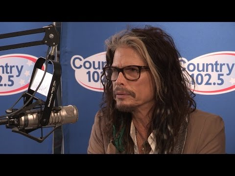 Steven Tyler Interview