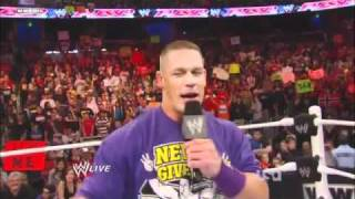 John Cena's farewell! Let's go Cena vs. Cena Sucks chants!