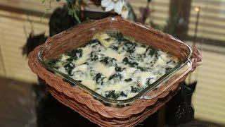 Как приготовить шпинат / ШПИНАТ НА ГАРНИР /spinach garnish