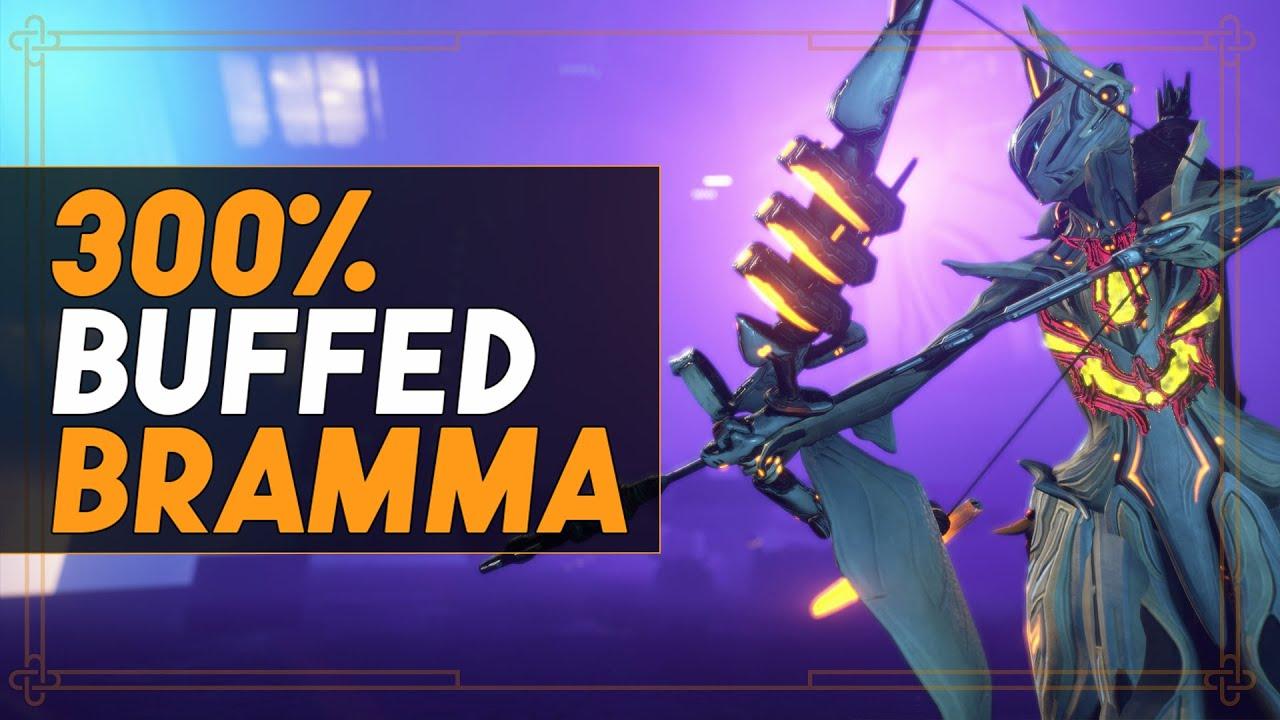 Warframe: Double Explosive Mayhem - The Buffed Bramma thumbnail