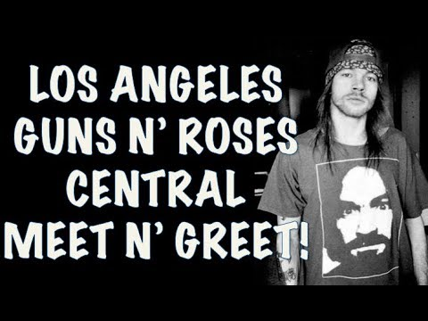 Guns N' Roses Central Los Angeles Meet And Greet! Staples Center November 24, 2017 from YouTube · Duration:  1 minutes 11 seconds
