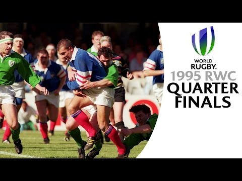 CLASSIC MATCHES! Rugby World Cup 1995 quarter-finals 1& 2