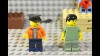 LEGO КамАЗ 54115 из сериала Дальнобойщики(Инструкция)