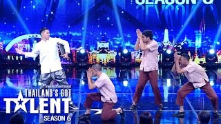 Thailand's Got Talent Season 6 EP1 4/6