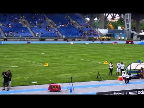 Matt runs 4x400 at Icahn Stadium Adidas Grand Prix 2015