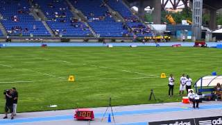 Matt runs 4x400 at Icahn Stadium Adidas Grand Prix 2015