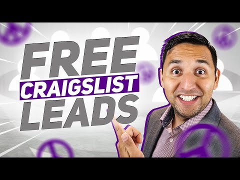 Free Craigslist Leads - The Easy Method