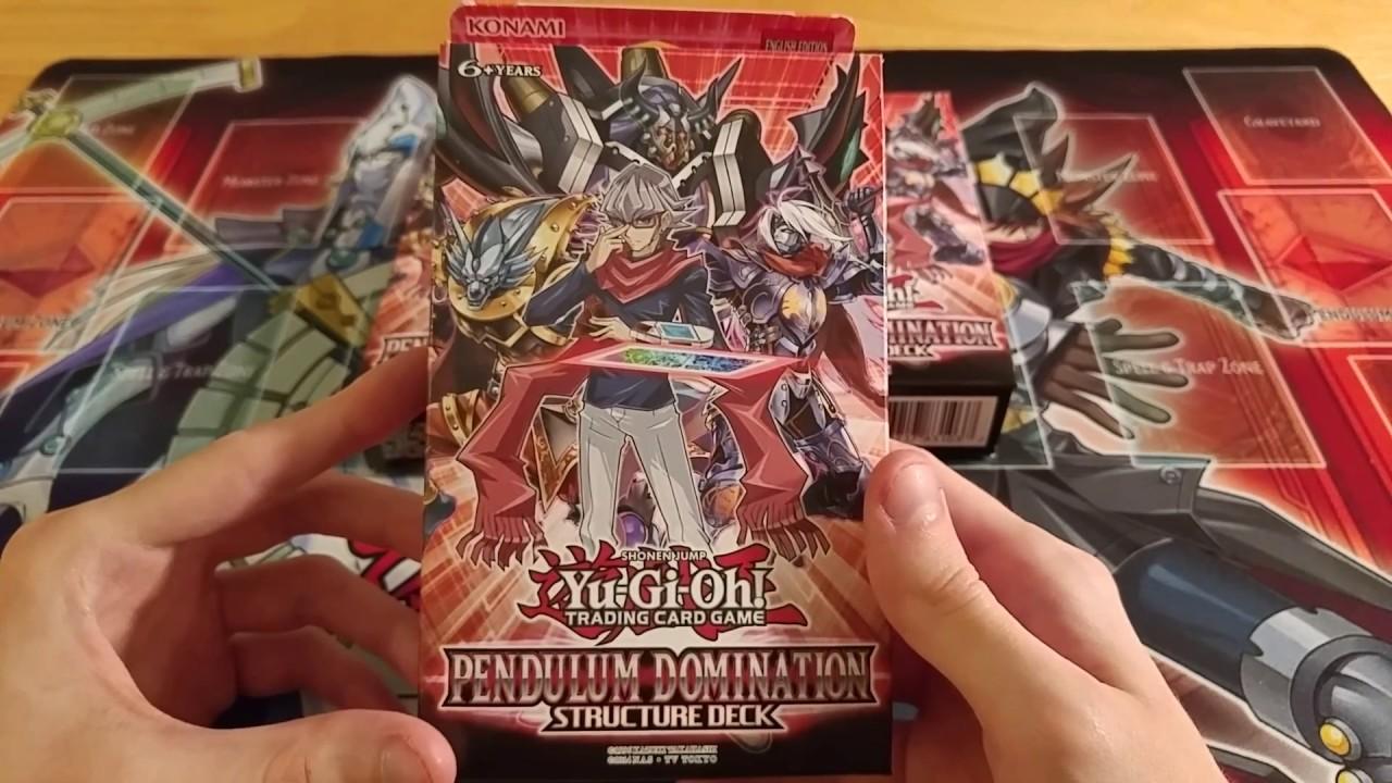 Yu-Gi-Oh 3x Pendulum Domination Structure Decks