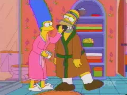 Simpsons - Better polish those jaw wires - YouTube