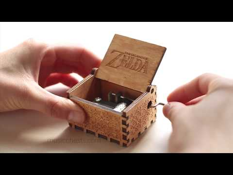 Legend of Zelda Music Box | Hand Crafted Music Chest
