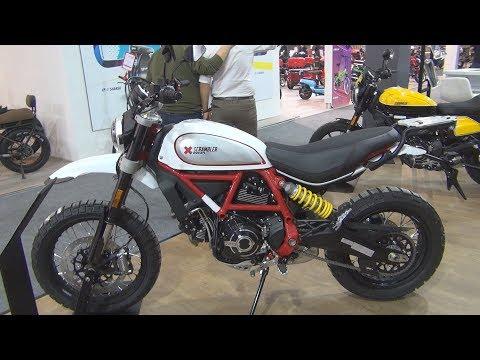 Scrambler Ducati Desert Sled (2020) Exterior And Interior