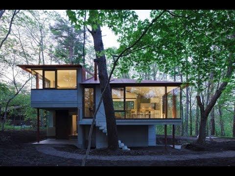 Dise o de casa de campo moderna youtube for Casa moderna en el campo
