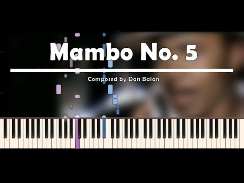 Lou Bega | Mambo No. 5 (A Little Bit of) | Piano Tutorial