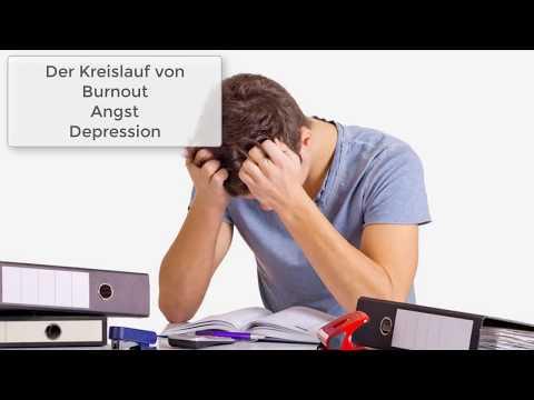 Hilfe bei Burnout, Ängsten und Depression - Symptome - Was kannst du tun?