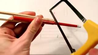 Как сделать танк из палочек для мороженого своими руками