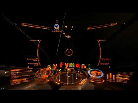 Elite Dangerous Bounty Hunting in an Viper Mk 4 Pt 2