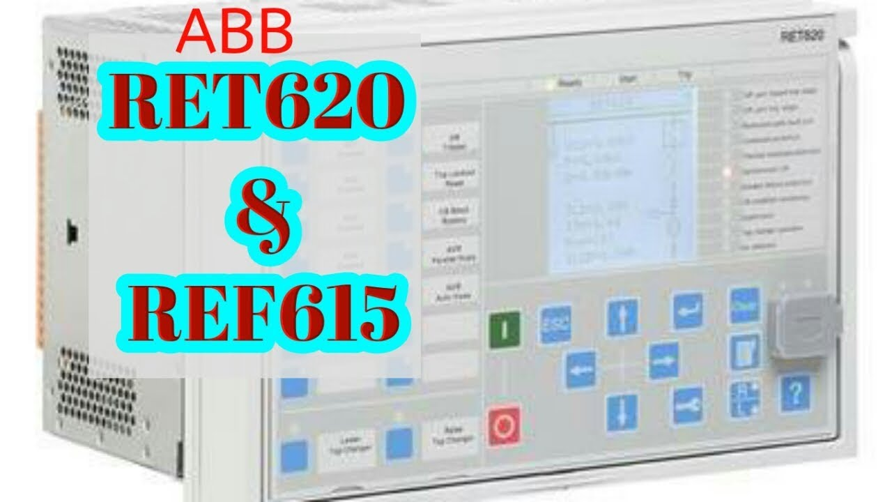 ABB RET620 REF615 DATE AND TIME SETTING