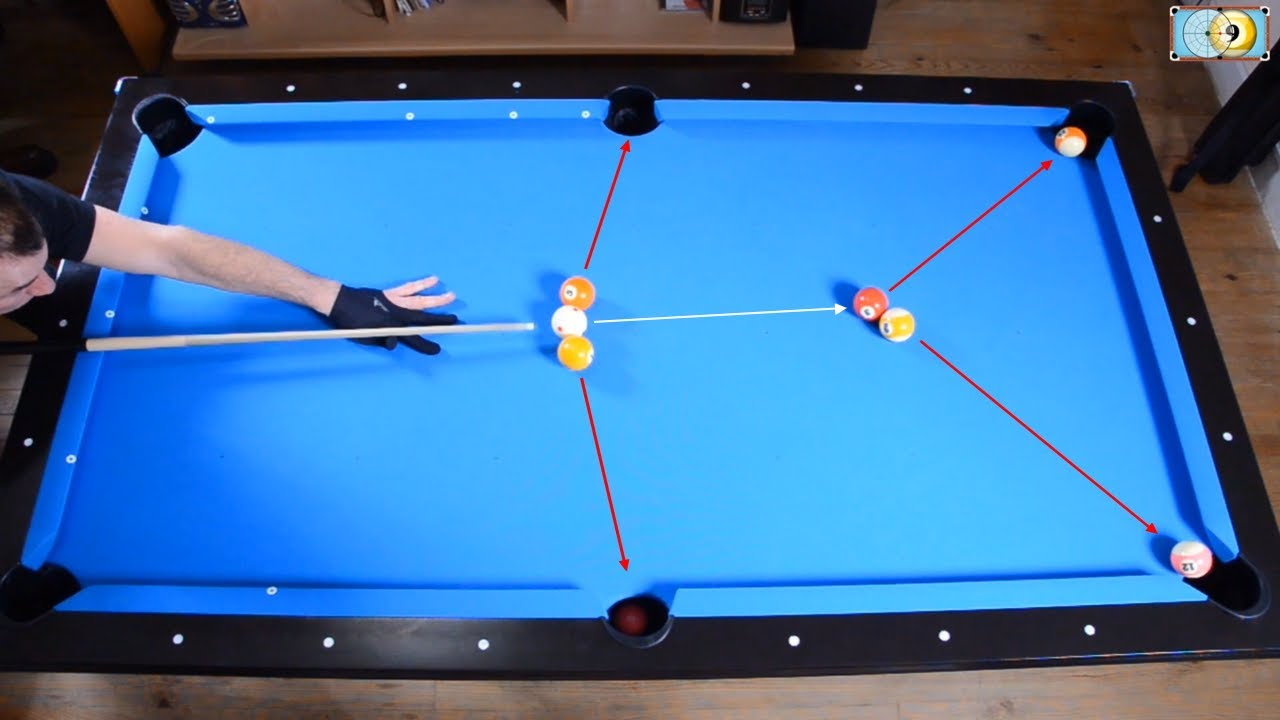 Trickshots for beginners 2 pool trick shot - Awesome swimming pool trick shots ...