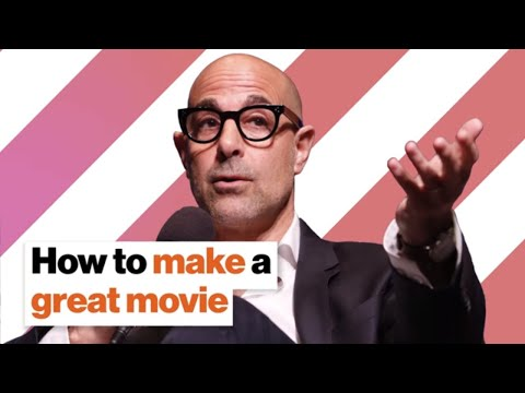 How to make a great movie | Stanley Tucci on collaboration, creativity and thrift