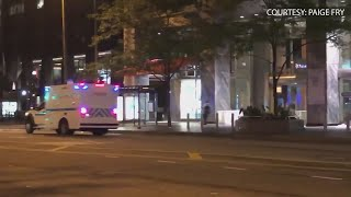 Widespread looting reported overnight in downtown Chicago