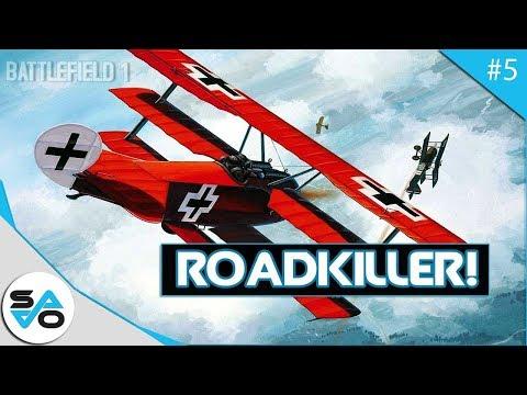 Battlefield 1 Roadkiller | Fighter Plane Montage!