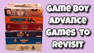 Nintendo Game Boy Advance Games To Revisit Part 1
