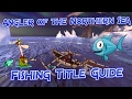 "Neverwinter - Fishing Title ""Angler of the Northern Sea"" - Mod 10.5"