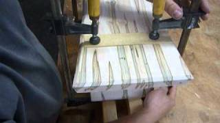 Making An Inlayed Sitting Bench Pt.5