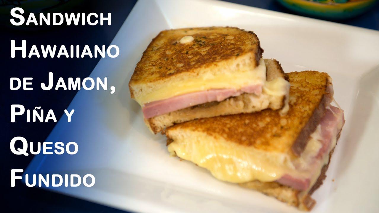 O Y Fundido JamonPiña Queso Panini Hawaiano Sandwich De SzMpqUVG