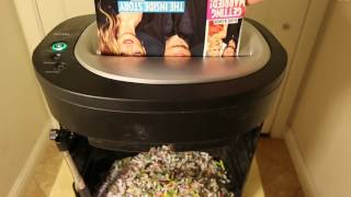 PAPER SHREDDER SATISFACTIONS - ITS MADNESS!!