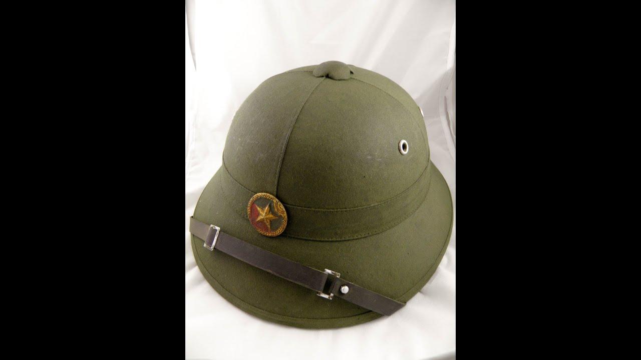 e5378474b7cac vietnam hat helmet viet cong vc vietcong army pith rare 1 north VN 7-7-2013